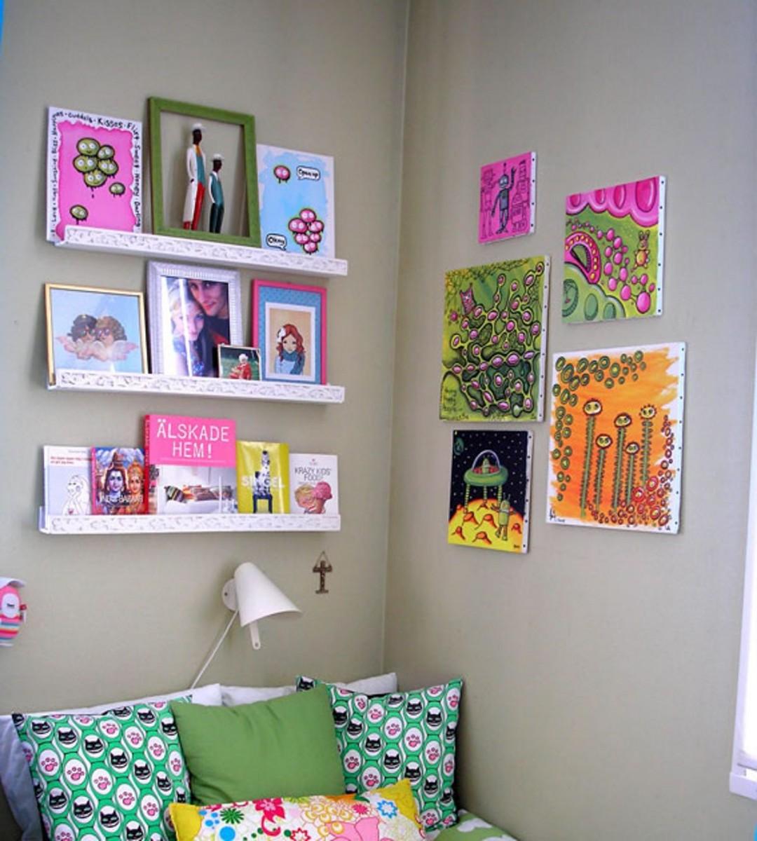 Картина своими руками для комнаты