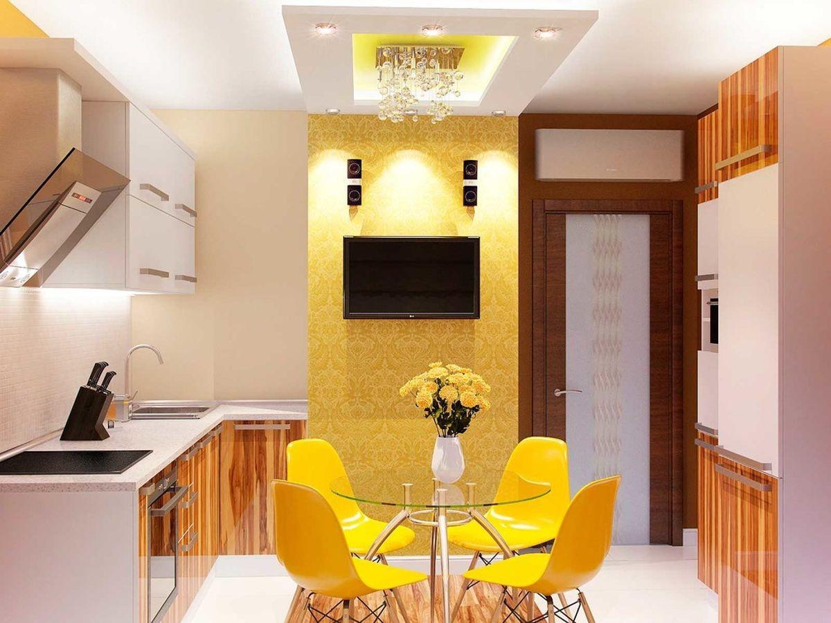 1 комнатные дизайны кухни