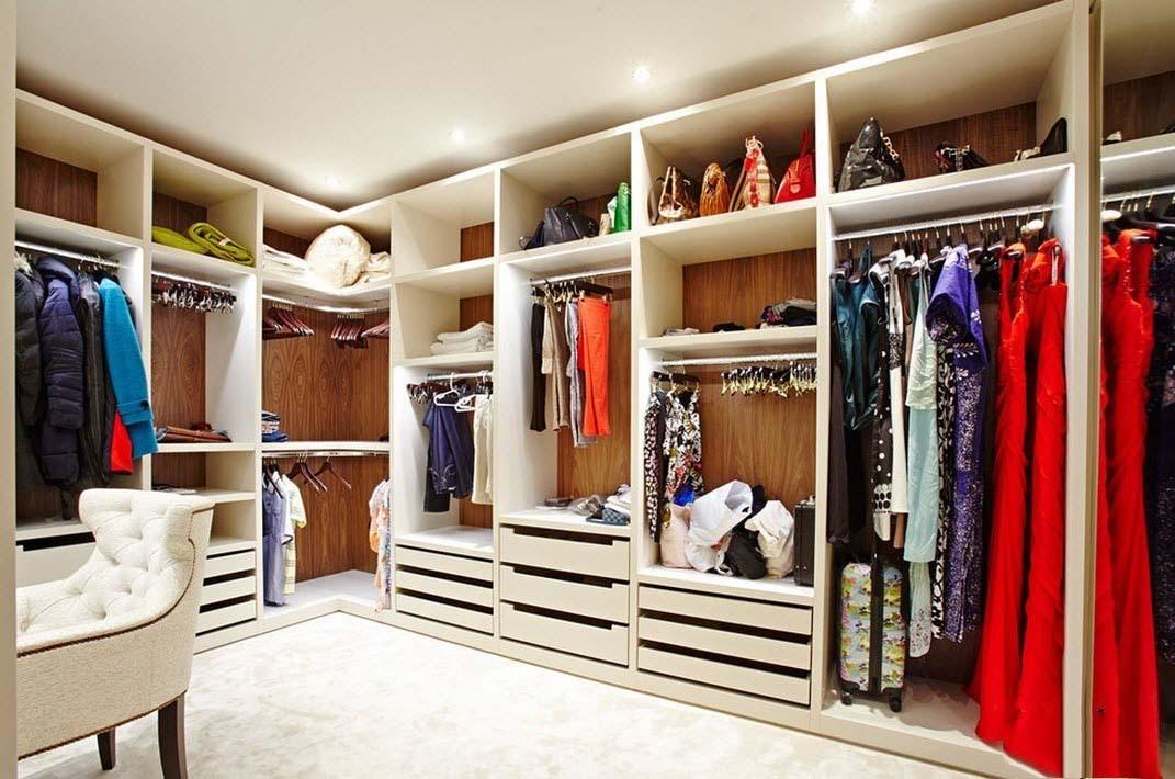 Как сделать из комнаты гардеробную