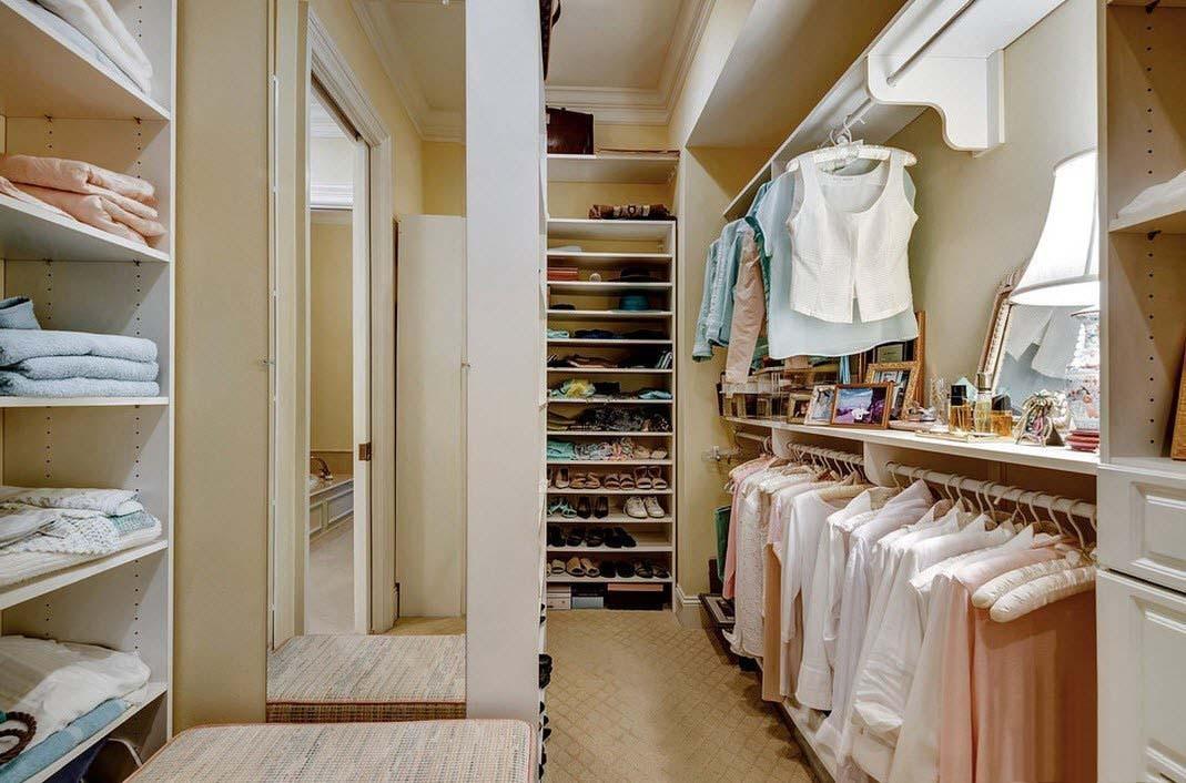 Простые гардеробные дизайн