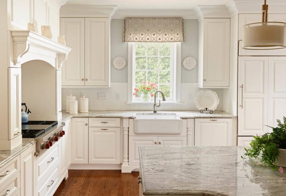 Маленькая красивая кухня дизайн